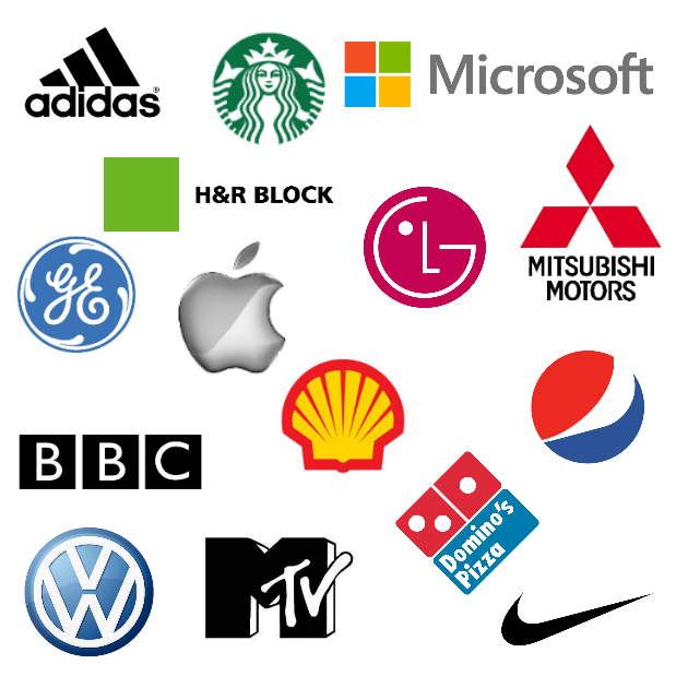 Logo design and shape